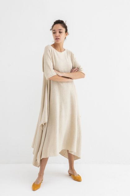 Plane Dress in Natural
