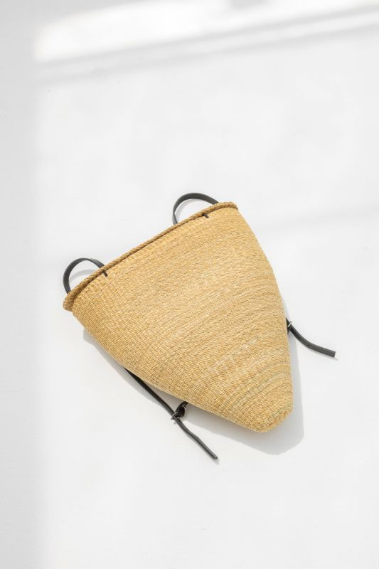 Cone Backpack in Black/Natural