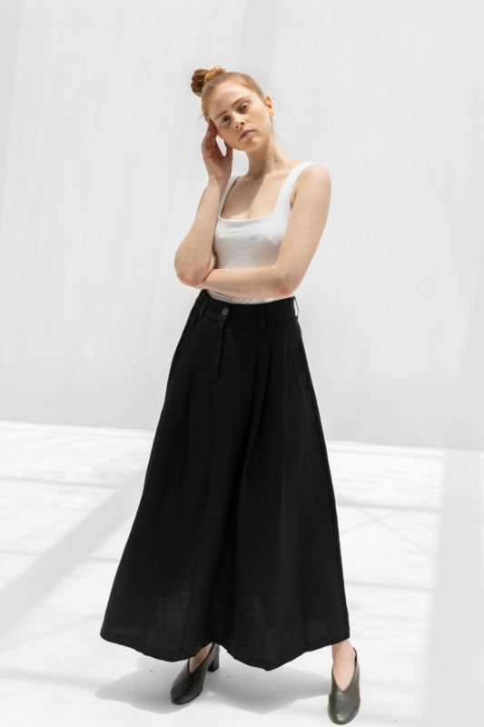 Tulay Skirt in Black