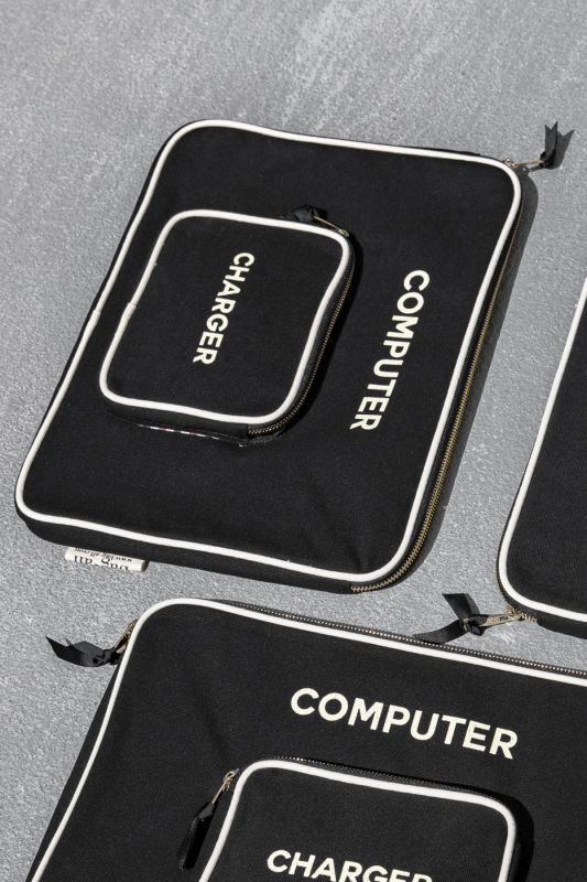 Computer Case Small in Black