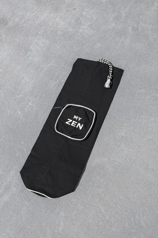 Yoga Mat Bag in Black