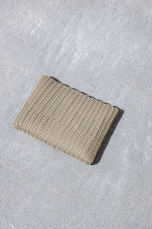 Small Clutch Bag in Sand