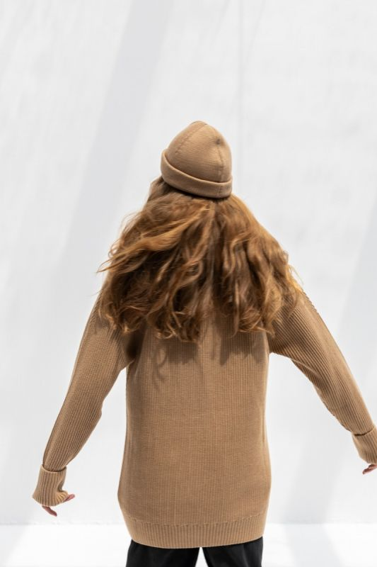 Spellbound Beanie Hat  in Camel