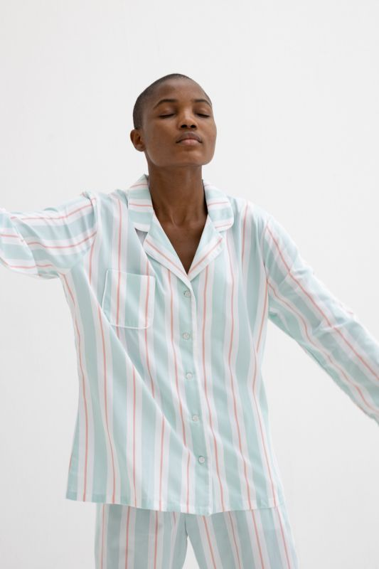 Milly 9 Pajama in Mint