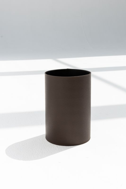 22x31.5 CM Round Bin in Coffee