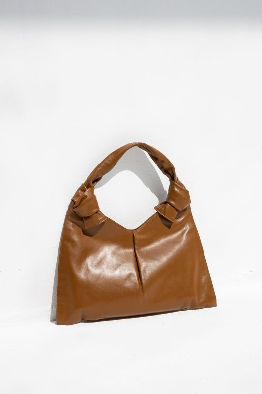 Knot Day Bag in Caramel