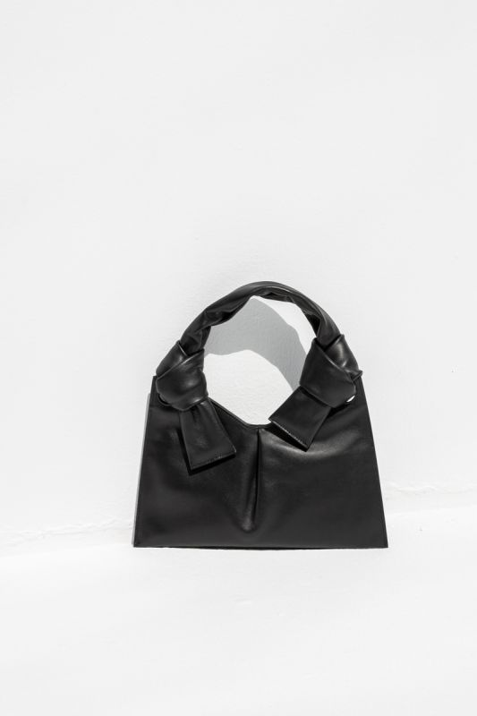 Knot Evening Bag in Black