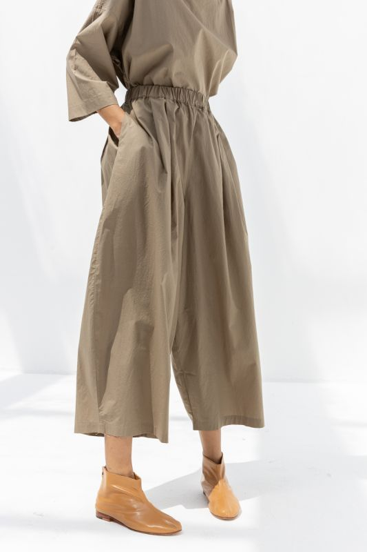 Wide Pants in Clay