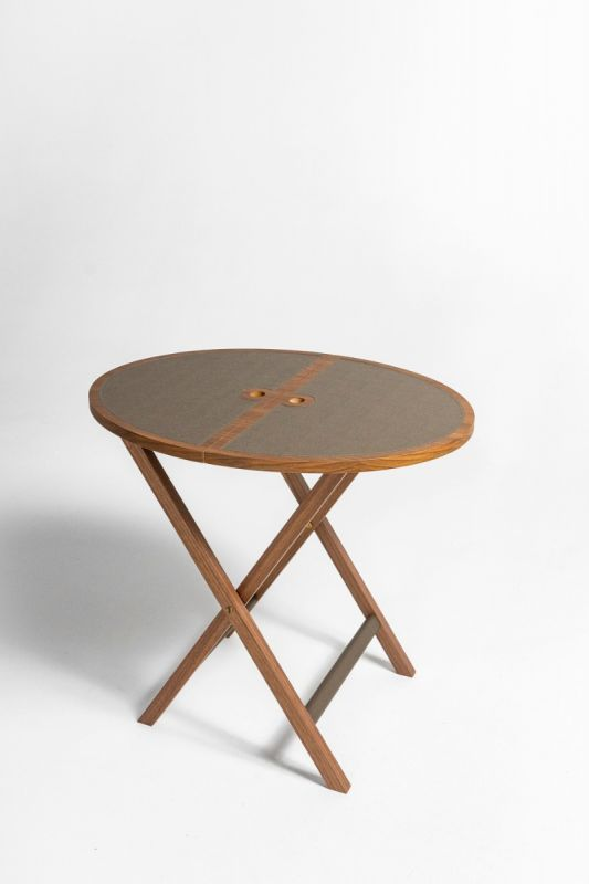 Novecento Folding Table in Clay