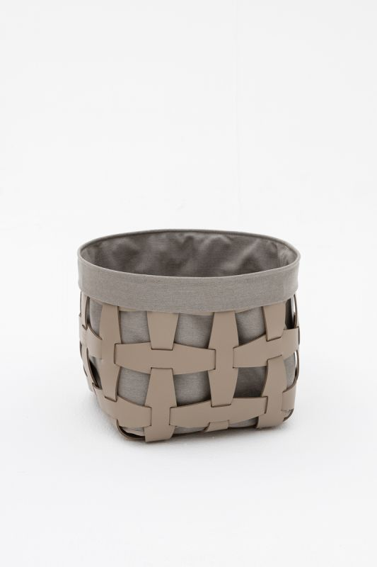 35x35xh 26.5 Hook Small Basket in Taupe