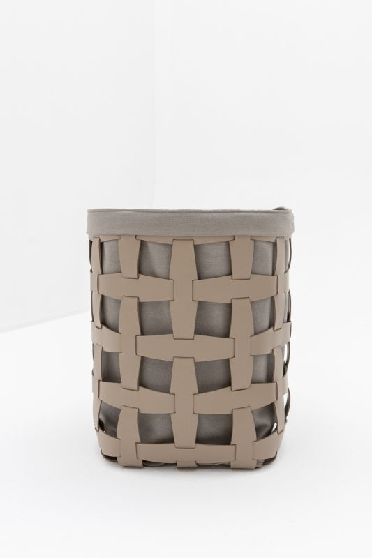 40x40xh 60 CM Hook Tall Basket in Taupe