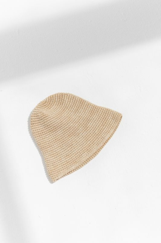 Bell Hat in Straw Space