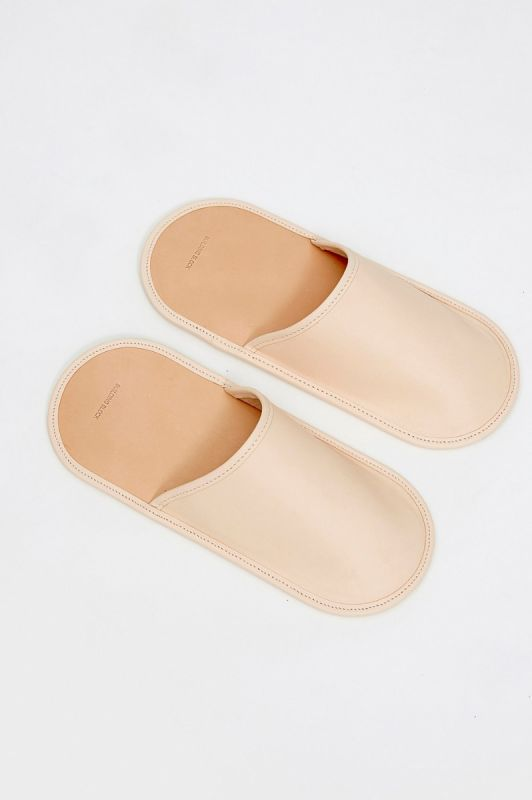 House Slippers in Veg Tan