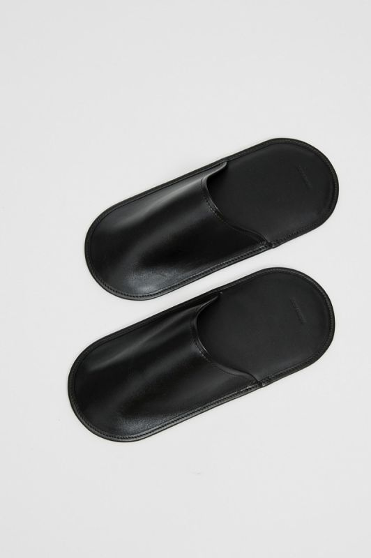 House Slippers in Black